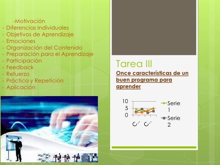 -Motivación-   Diferencias Individuales-   Objetivos de Aprendizaje-   Emociones-   Organización del Contenido-   Preparac...