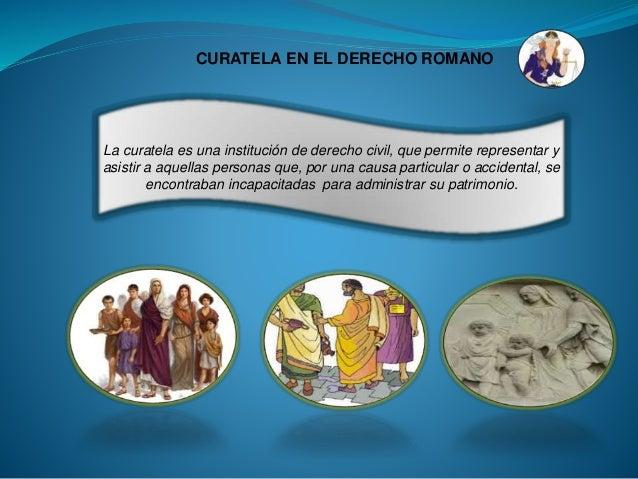 Matrimonio Romano Tutela Y Curatela : Derecho reales servidumbre y curatela tarea iv romano