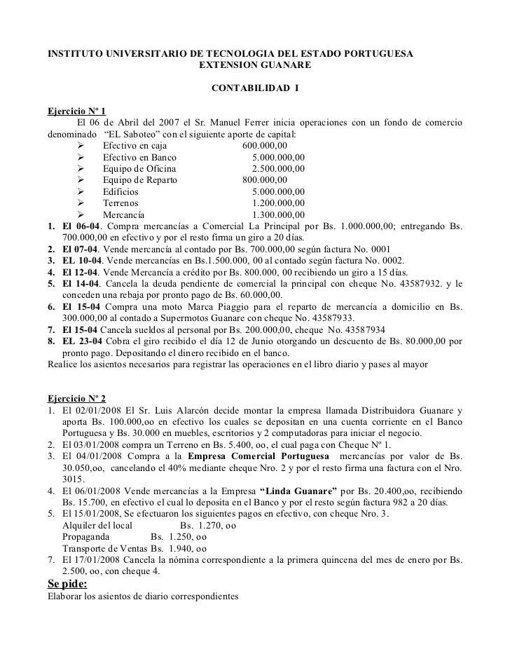 INSTITUTO UNIVERSITARIO DE TECNOLOGIA DEL ESTADO PORTUGUESA                          EXTENSION GUANARE                    ...