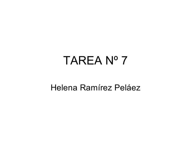 TAREA Nº 7Helena Ramírez Peláez