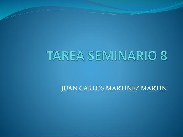 JUAN CARLOS MARTINEZ MARTIN