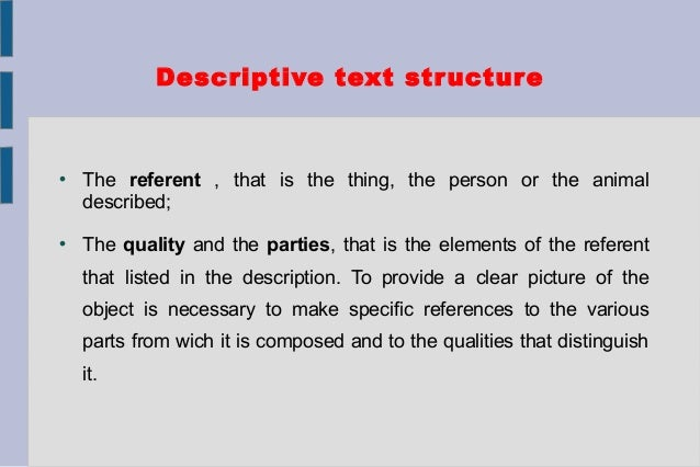 structure of a text examples