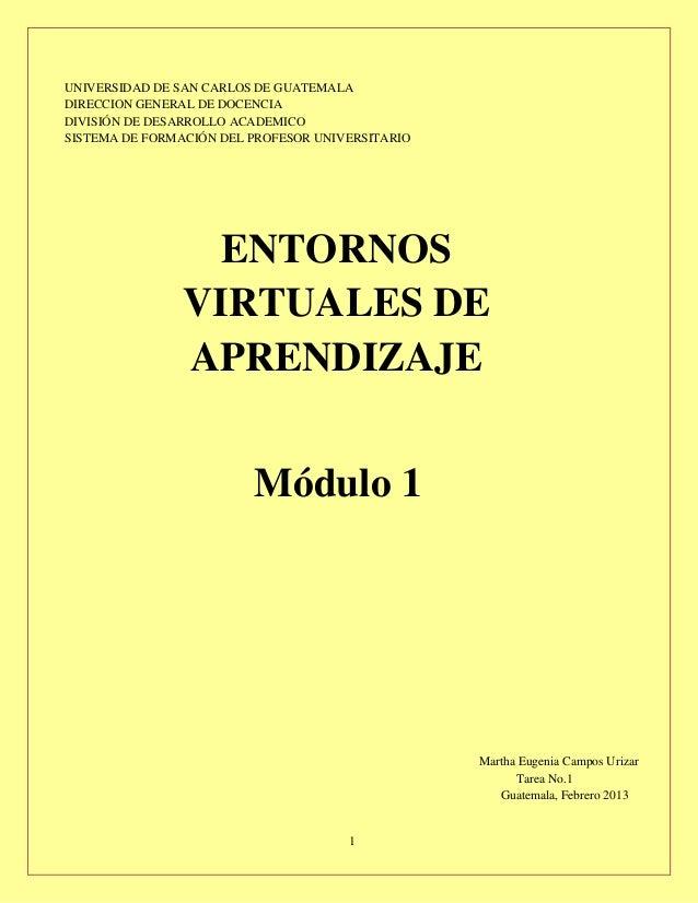 UNIVERSIDAD DE SAN CARLOS DE GUATEMALADIRECCION GENERAL DE DOCENCIADIVISIÓN DE DESARROLLO ACADEMICOSISTEMA DE FORMACIÓN DE...