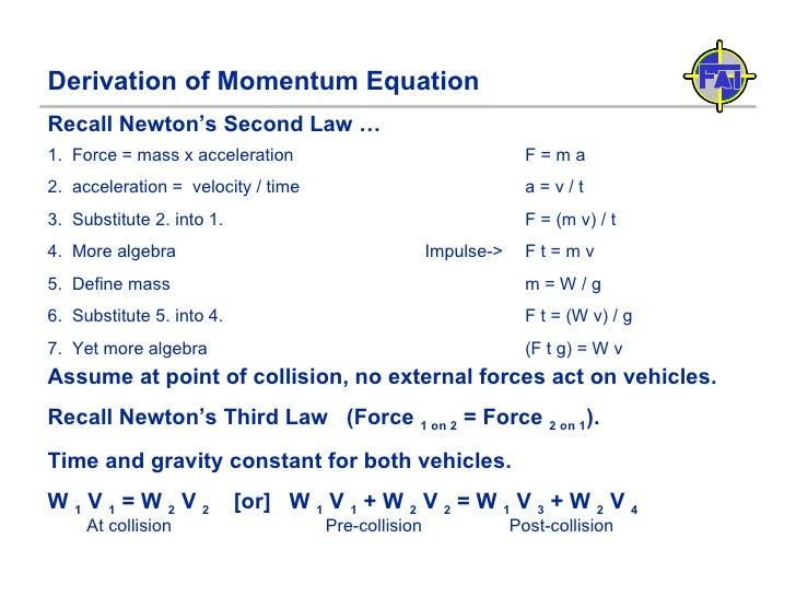 Physics Car Accident Reconstruction