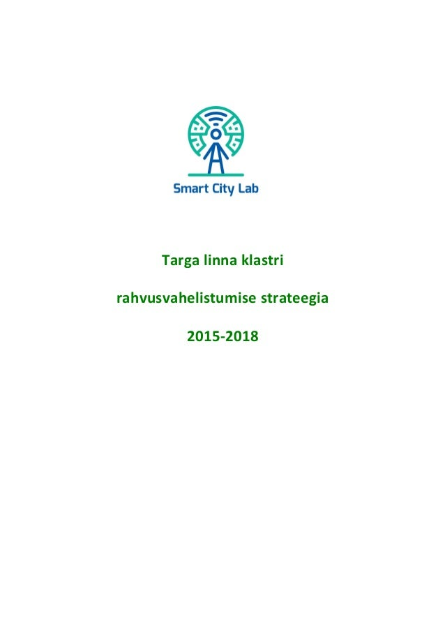 Targa  linna  klastri   rahvusvahelistumise  strateegia     2015-‐2018