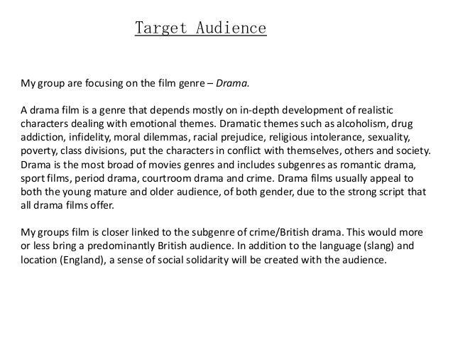 target audience paragraph