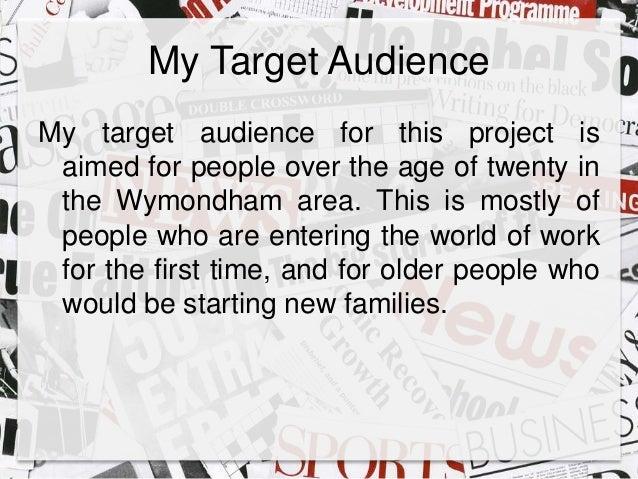 target audience for broadsheet newspapers