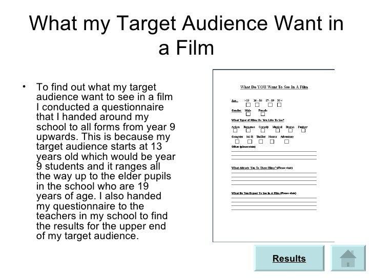 Target audience powerpoint (1)