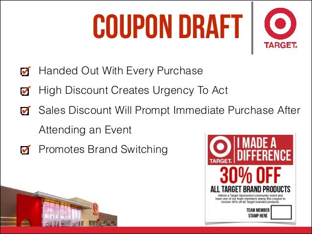 Coupon Draft Handed Out With Every Purchase High Discount Creates Urgency To Act Sales Discount Will Prompt Immediate Purc...