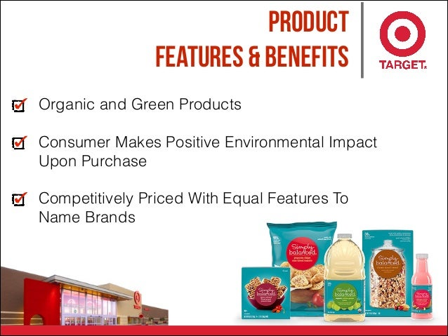 Product Features & Benefits Organic and Green Products Consumer Makes Positive Environmental Impact Upon Purchase Competit...