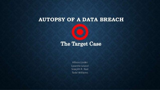 Target data breach presentation