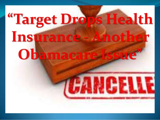 """""""Target Drops Health Insurance - Another Obamacare Issue"""""""
