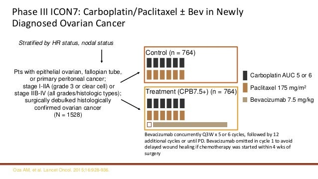 Targeted therapy in frontline treatment of advanced ovarian cancer se…