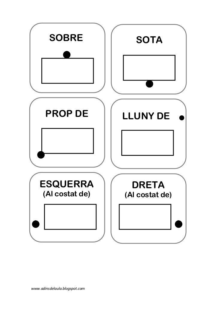 SOBRE                     SOTA       PROP DE                  LLUNY DE    ESQUERRA                      DRETA      (Al cos...