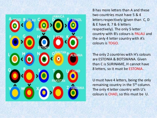 target flags logic puzzle - solution tutorial