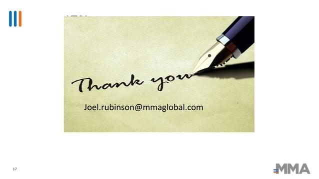 17 Joel.rubinson@mmaglobal.com