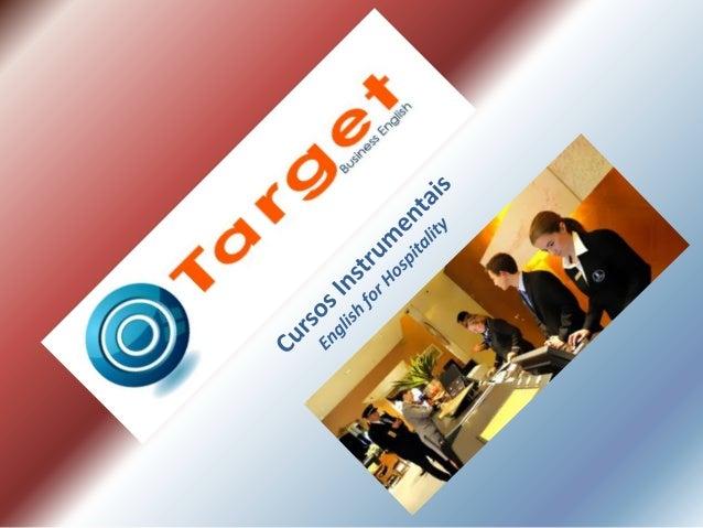 Target Business English A Target é uma escola de idiomas que foi fundada em 1994 e desde o início somos conhecidos por nos...