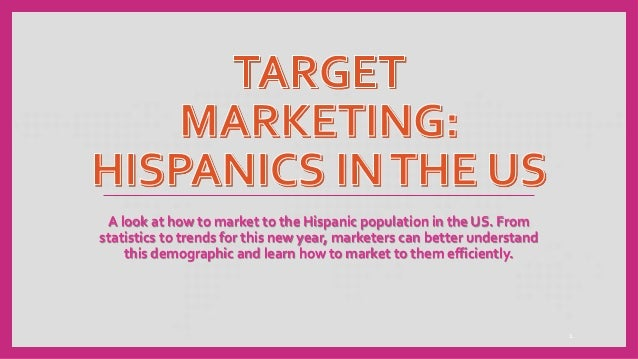 A look at how to market to the Hispanic population in the US. From statistics to trends for this new year, marketers can b...