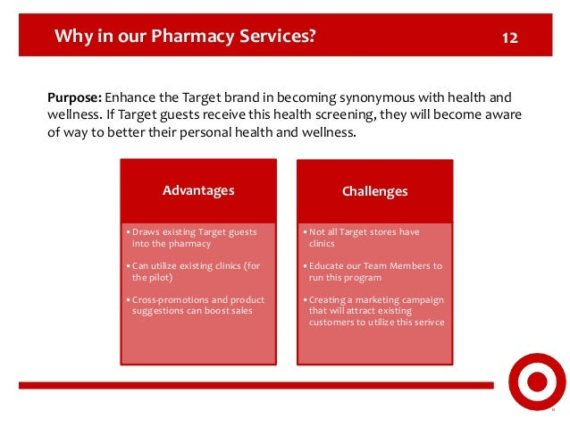 Target Pharmacy Services: Health & Wellness