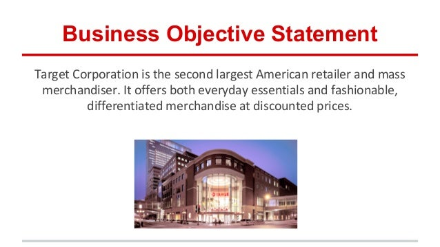 target corporation financila analysis The target corporation is an exclusive retail discounter that provides high quality merchandise at competitive prices in orderly and guest-friendly stores its history dates back to the early 1900s.