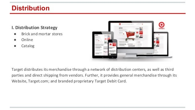 Target corporation distribution strategy