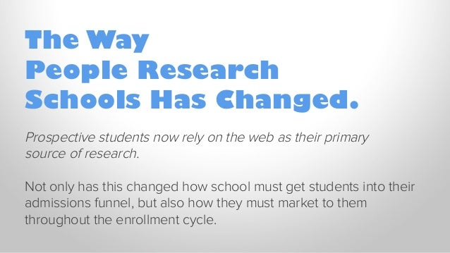Target Students Throughout The Enrollment Cycle with Inbound Marketing Slide 2