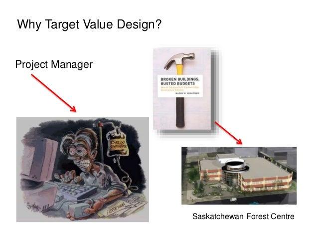 Project Manager Saskatchewan Forest Centre Why Target Value Design?