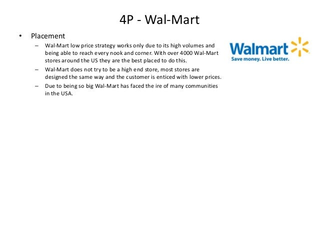 Target Walmart 4p Analysis Elements Of Marketing