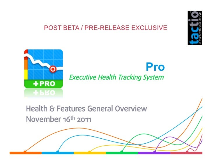 POST BETA / PRE-RELEASE EXCLUSIVE            TargetWeight Pro            Executive Health Tracking SystemHealth & Features...