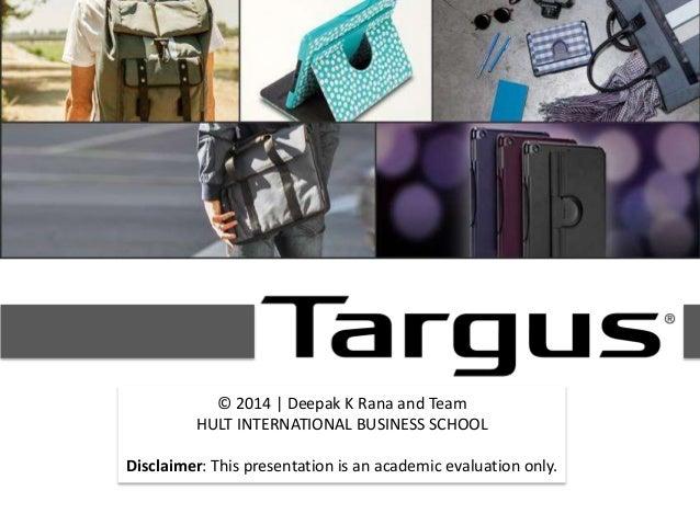 Targus digital-marketing-by-Deepak-K-Rana