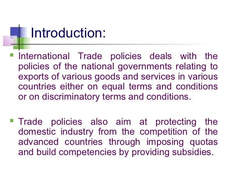 tariff barriers introduction Tariffs in world seafood trade   classification of seafood products for the analysis of tariff barriers in world  introduction: tariffs and the wto.