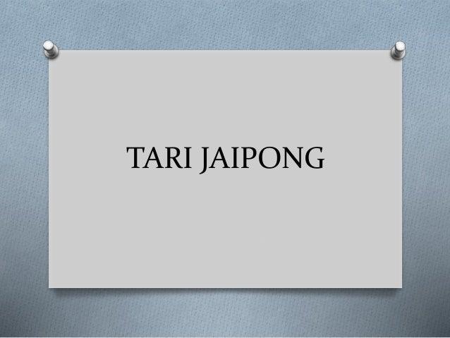 Presentasi Tarian Jaipong