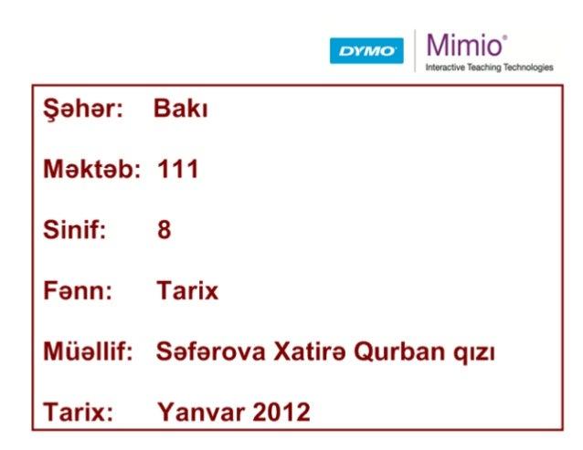 Tarix 8 111_seferova xatire qurban