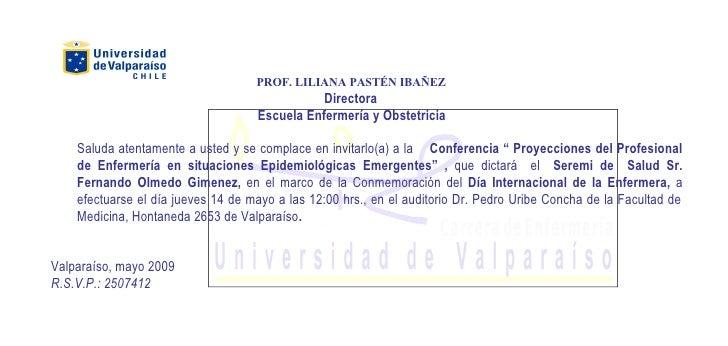 PROF. LILIANA PASTÉN IBAÑEZ                                                Directora                                     E...