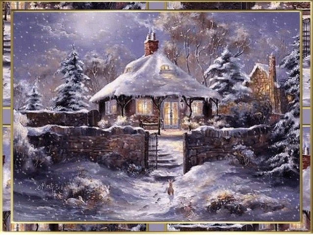 Tarjeta de navidad de la alcaldia de san luis