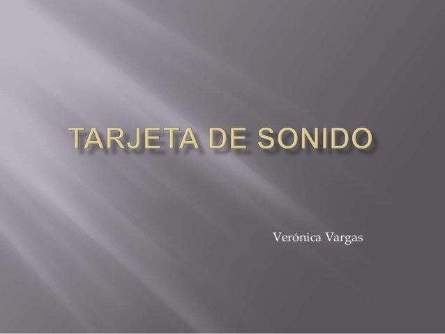 Verónica Vargas