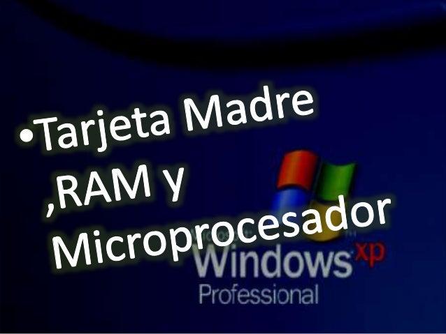CHIPSET NORTE gestiona la interconexión entre el microprocesador, la memoria RAM y la unidad de procesamiento gráfico SUR ...