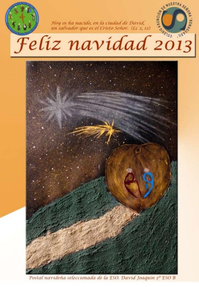 Tarjeta navidad 2013