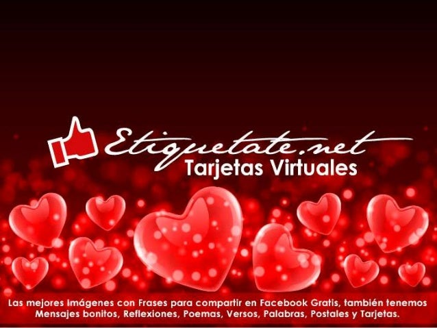 Tarjetas Con Frases Romanticas De Amor Etiquetate Net