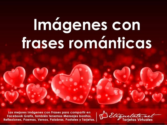 Tarjetas Con Frases Romanticas De Amor Para Conquistar