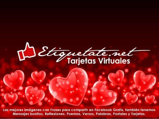 Tarjetas Con Mensajes Romanticas De Amor Etiquetate Net