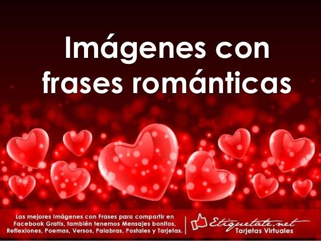 Tarjetas Con Mensajes Romanticas De Amor Para Enamorar
