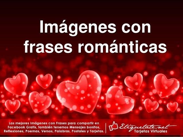 Tarjetas Con Palabras Romanticas De Amor Etiquetate Net