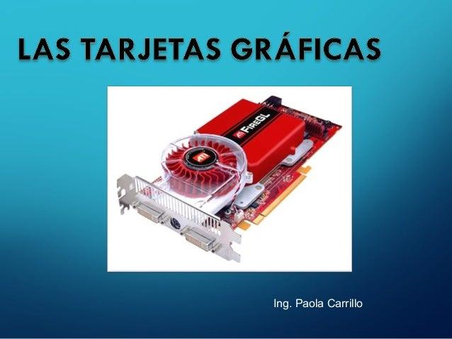 Ing. Paola Carrillo