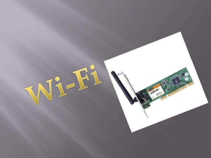 Wi-Fi<br />