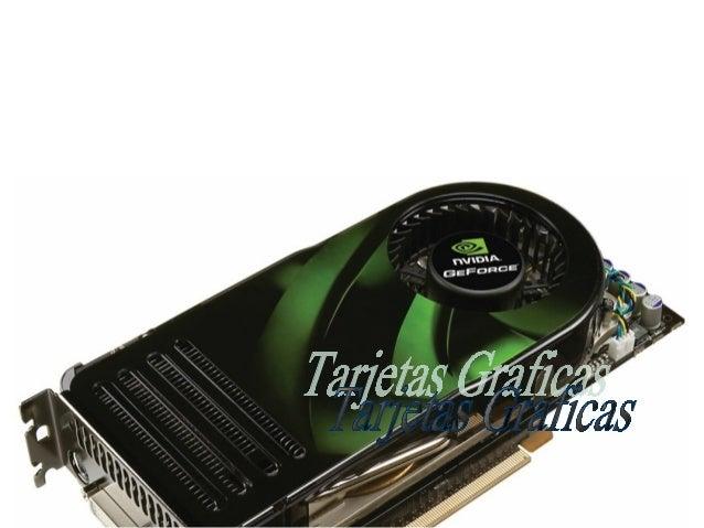 Una placa o tarjeta gráfica, es una tarjeta de expansión para unacomputadora, encargada de procesar los datos provenientes...