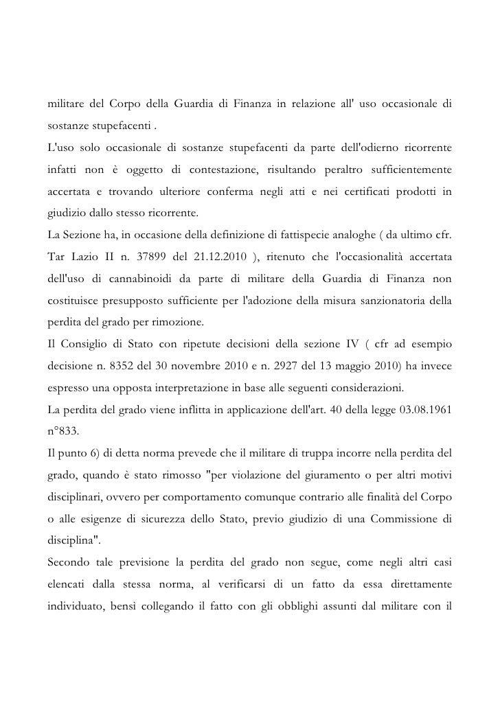 Tar Lazio sent n. 3560 11 Slide 3