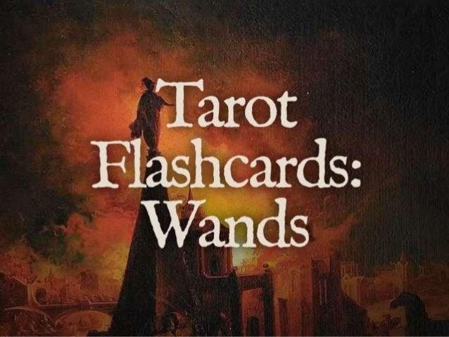 Tarot Flashcards: Wands from www.LearnTarotInaDay.com