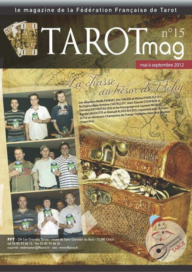 Joyeux anniversaire ! Le premier club de Tarot a été créé dans un grand hôtel parisien pour diversifier les activités prop...