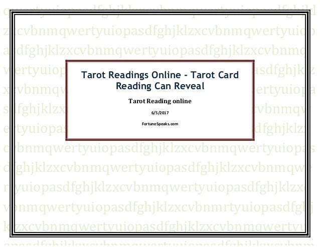 Tarot Readings Online - Tarot Card Reading Can Reveal